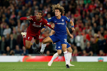 Joel Matip Liverpool v Chelsea - Carabao Cup Third Round