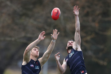 Joel Smith Melbourne Demons Training Session