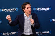 "Joel Osteen speaks during the SiriusXM Studios for its ""Town Hall"" Series, hosted by Kathie Lee Gifford on October 1, 2018 in New York City."