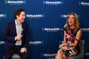 "(L-R) Joel Osteen speaks during the SiriusXM Studios for its ""Town Hall"" Series, hosted by Kathie Lee Gifford on October 1, 2018 in New York City."