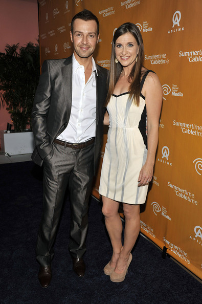 Joey Lawrence Joey Lawrence and Kellie Martin attend the Time Warner Cable ...