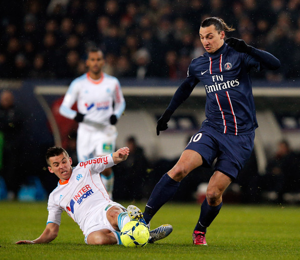 Photos Chelsea Vs Paris Saint Germain: Joey Barton And Zlatan Ibrahimovic Photos Photos