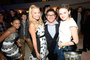 Joey King Nolan Gould Teen Vogue Young Hollywood Party