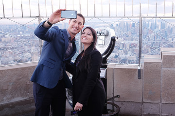 Joey Logano 2018 Monster Energy NASCAR Cup Series Champion Joey Logano Visits The Empire State Building