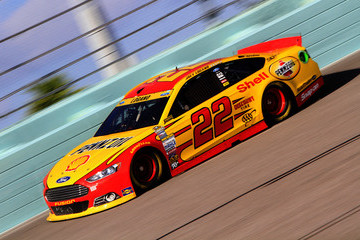 Joey Logano Homestead-Miami Speedway - Day 3