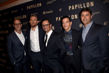 Joey McFarland Premiere Of Bleecker Street Media's 'Papillon' - Red Carpet
