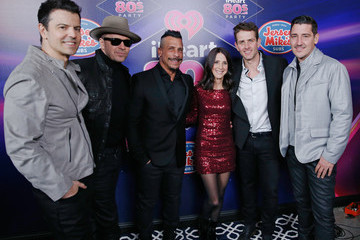 Joey McIntyre Danny Wood iHeart80s Party 2017 - Broadcast Room