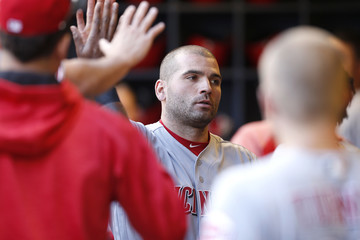Joey Votto Cincinnati Reds v Milwaukee Brewers
