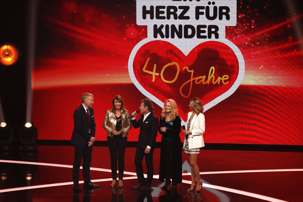 Ein Herz Fuer Kinder Gala 2018 - Show [show,red,performance,event,stage,talent show,valentines day,comedy club,performing arts,kinder,johannes b. kerner,peter maffay,ireen sheer,herz,germany,december 8,berlin,gala]