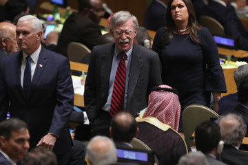 John Bolton World Leaders Address The United Nations General Assembly