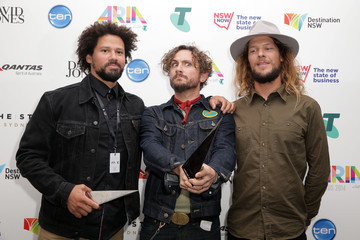 John Butler 28th Annual ARIA Awards Awards Room