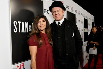 John C. Reilly Alison Dickey AFI FEST 2018 Presented By Audi - Screening Of 'Stan & Ollie' - Red Carpet