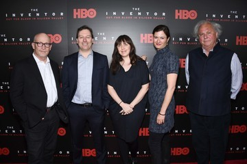 John Carreyrou HBO's 'The Inventor: Out For Blood In Silicon Valley' New York Premiere