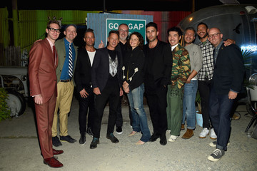 John Caruso GQ x GAP Best New Menswear Designer in America Collection Launch Party