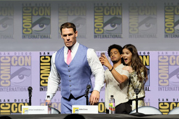 John Cena Hailee Steinfeld Paramount Pictures Presents 'Bumblebee' At Comic-Con International 2018