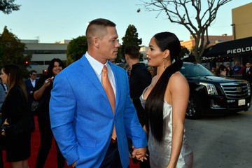 "John Cena Nikki Bella Premiere Of Universal Pictures' ""Blockers"" - Red Carpet"