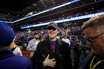 John Cusack World Series - Chicago Cubs v Cleveland Indians - Game Seven