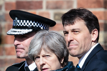 John Glen Theresa May Visits The Scene Of The Salisbury Spy Poisoning