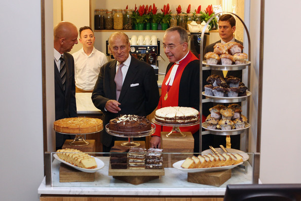 The Duke Of Edinburgh Opens The Cellarium Cafe At Westminster Abbey []