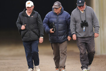 John Hawkes Flemington Trackwork Session