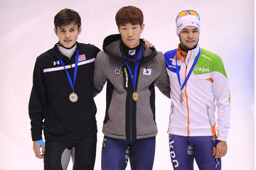 John-Henry Krueger Samsung ISU World Cup Short Track - Day Three