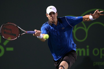 John Isner Miami Open Tennis - Day 8