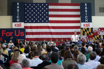 John Kasich John Kasich Campaigns In Maryland Ahead Of State Primary