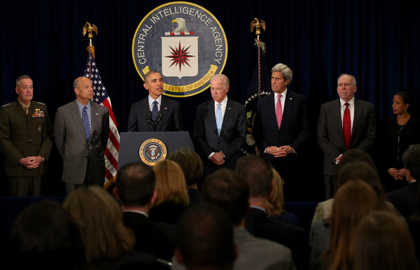 President Obama Delivers Statement at CIA Headquarters