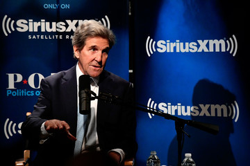 John Kerry Sec. John Kerry Talks With SiriusXM's Julie Mason During A Town Hall Event In Washington, D.C.