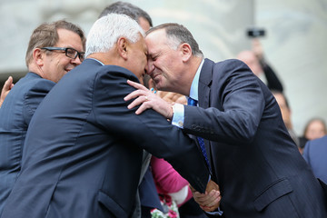 John Key National Party MPs Vote on New Leader and Prime Minister Following John Key's Resignation