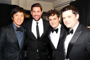 John Krasinski Backstage at the Critics' Choice Movie Awards