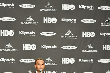 John Legend 30th Annual Rock And Roll Hall Of Fame Induction Ceremony - Press Room