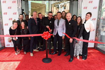John Legend H&M Herald Center Flagship Opening With John Legend