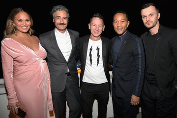 John Legend Chrissy Teigen GQ And Dior Homme Host A Private Dinner In Celebration Of The 2017 GQ Men Of The Year Party