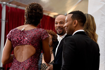 John Legend Common Arrivals at the 87th Annual Academy Awards — Part 3
