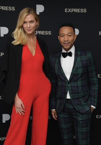A Legendary Christmas.John Legend And Karlie Kloss Photos Photos John Legend A