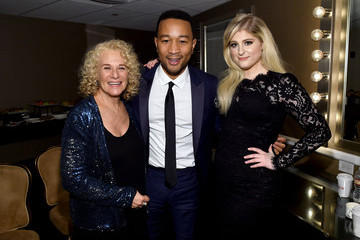John Legend Meghan Trainor Pre-GRAMMY Gala And Salute To Industry Icons Honoring Martin Bandier - Backstage And Audience