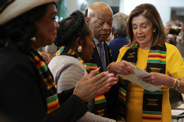 John Lewis Congressional Black Caucus Hosts Ceremony Commemorating 400th Anniversary Of First-Recorded Forced Arrival Of Enslaved African People