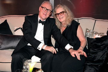 John Lithgow and Mary Yeager at The Weinstein Company and Netflix Golden Globes Party