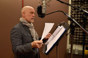 John Malkovich 'Call of Duty: Advanced Warfare' Recording Session