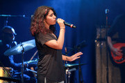 Alessia Cara performs with John Mayer for Bud Light's Dive Bar Tour at the Echoplex In Los Angeles on July 26, 2017 in Los Angeles, California.