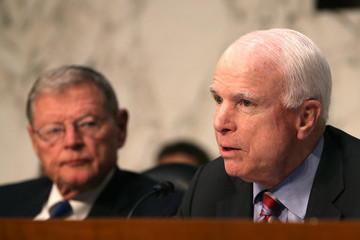 John McCain Defense Budget Discussed in Washington, DC