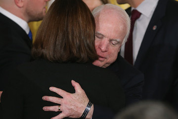 John McCain President Obama Signs Clay Hunt Suicide Prevention For American Veterans Act