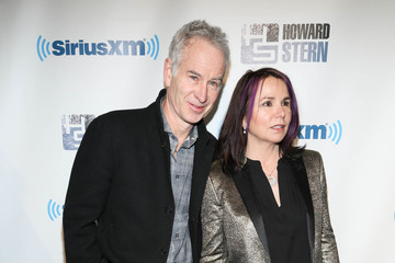 John McEnroe Arrivals at Howard Stern's Birthday Bash