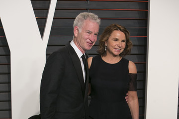 John McEnroe 2016 Vanity Fair Oscar Party