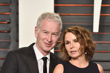 John McEnroe 2016 Vanity Fair Oscar Party Hosted By Graydon Carter - Arrivals