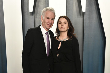 John McEnroe 2020 Vanity Fair Oscar Party Hosted By Radhika Jones - Arrivals