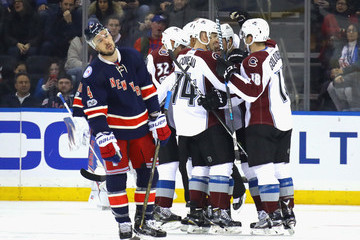 John Mitchell Colorado Avalanche v New York Rangers