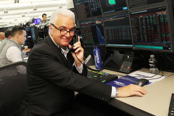 John O'Hurley Annual Charity Day Hosted By Cantor Fitzgerald, BGC and GFI - Cantor Fitzgerald Office - Inside