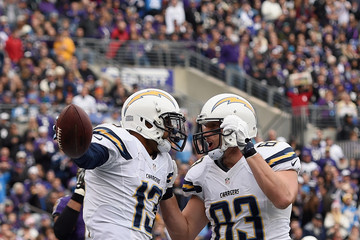 John Phillips San Diego Chargers v Baltimore Ravens